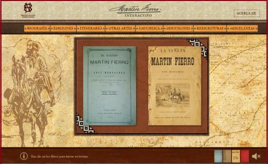 Martin Fierro-guia interactiva-biblioteca nacional