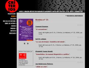 revista Criterios-Cuba